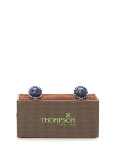 Thompson Kol Düğmesi Lacivert